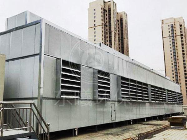 深圳市罗湖区某商业楼风冷热泵隔音降噪工程
